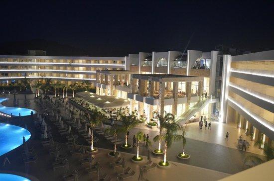 Princess Andriana Resort & Spa: view from the balcony