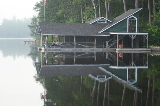 White Pine Camp : The Old Boat House