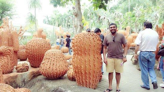 Nong Nooch Tropical Botanical Garden: Clay work
