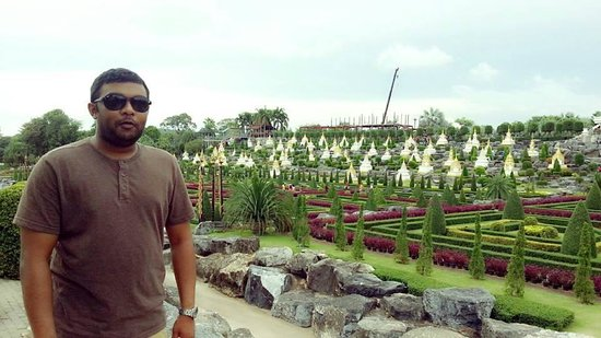 Nong Nooch Tropical Botanical Garden: Beautiful view from the top