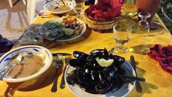 Agriturismo Santa Margherita : Cozze - Muschel...waren shr lecker!
