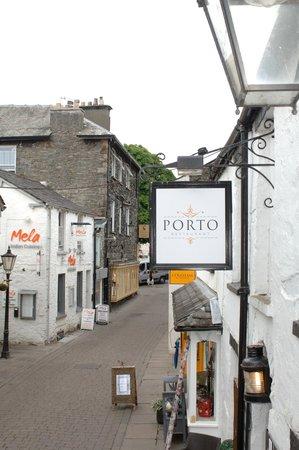 Porto Restaurant: The Porto sign