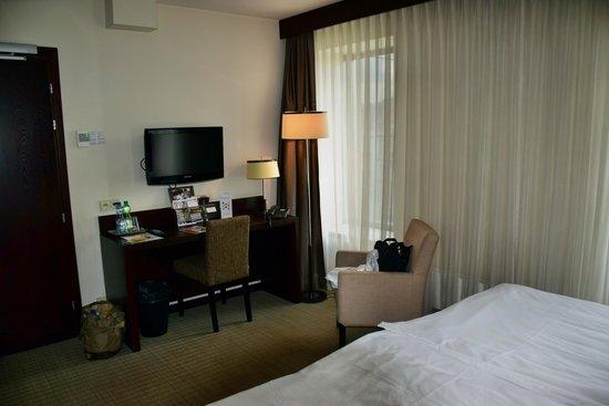 Europeum Hotel: unser Zimmer