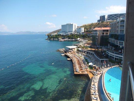 Charisma De Luxe Hotel: 部屋からの眺め