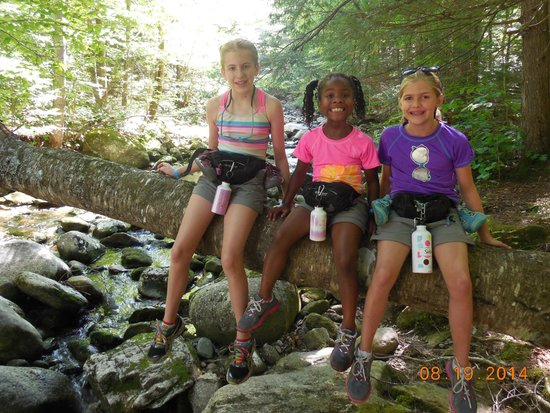 AMC Cardigan Lodge: On the trail to Welton Falls