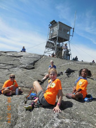 AMC Cardigan Lodge : We made it to the Top of Mt Cardigan