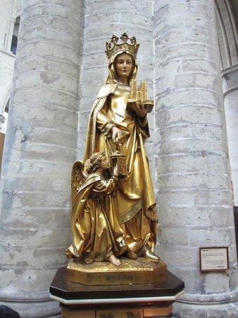 Cathédrale Saints-Michel-et-Gudule de Bruxelles : Ste Gudule