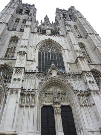 Cathédrale Saints-Michel-et-Gudule de Bruxelles : Exterior