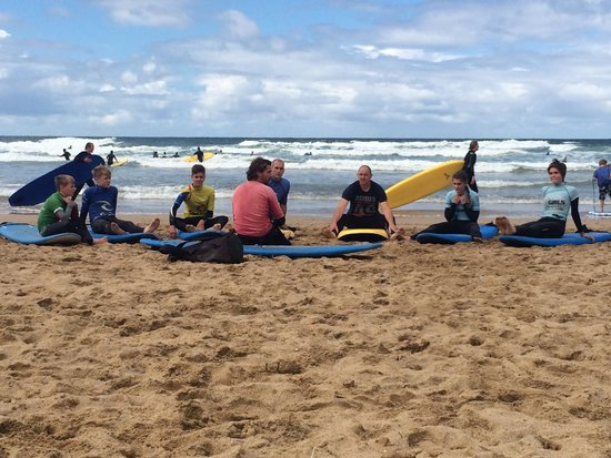 Dolphin Surf School: Fab day