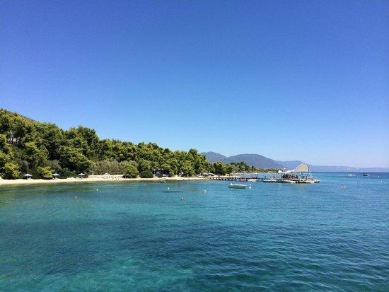 Club Med Gregolimano: le site  est magnifique