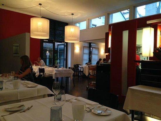 Cozy envronment at the restaurant papageno, Konstanz