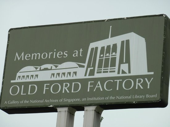 Old Ford Factory: Signage for museum