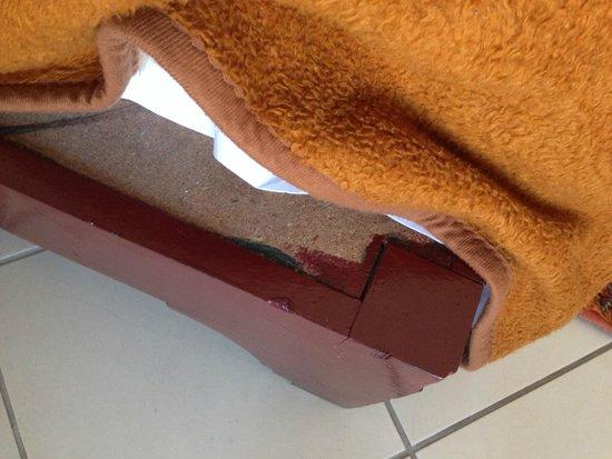 Ryad Mogador Al Madina : propeté des couvertures!!!!!!