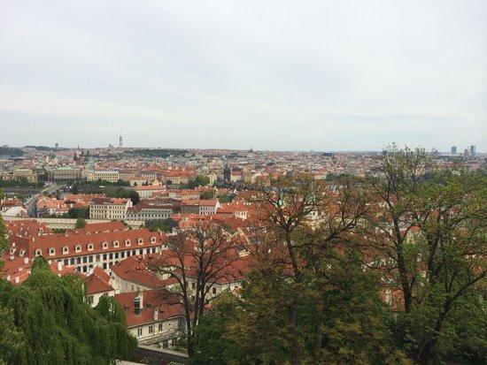 Château de Prague : The views!!