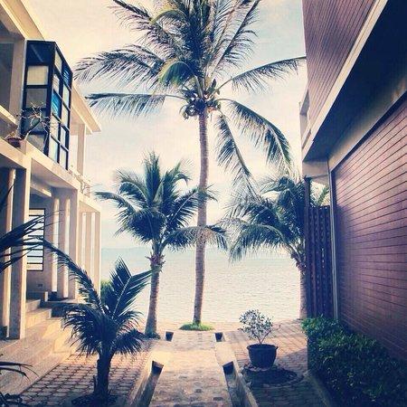 Neptune's Villa: Uitzicht