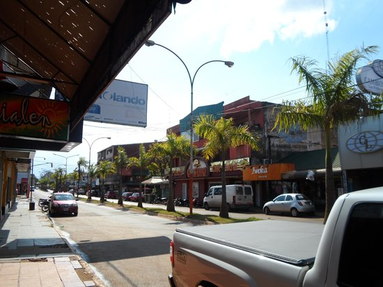 Hotel Saint George: main town street