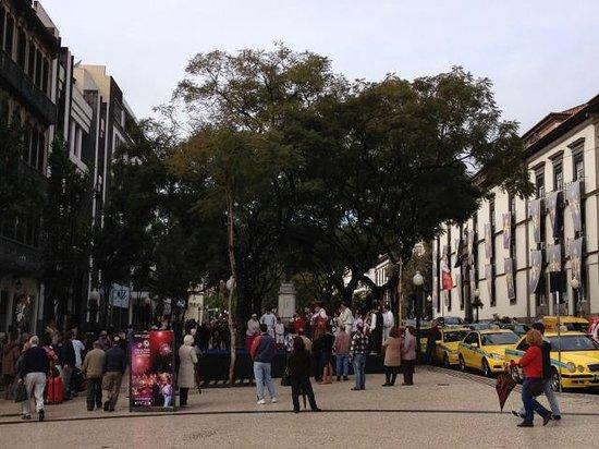 Cathedral Se: 大晦日のカテドラル前広場