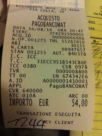 Celle Ligure, Italien: Replica a Titolare Maleducato, recensione del 16 agosto 2014, notare l'ora in alto a destra