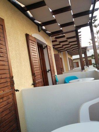 Santa Elena Hotel: terrazzino
