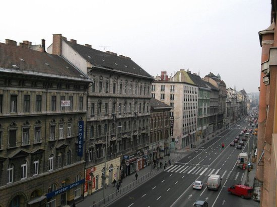 Hotel Hungaria City Center: View from our room..!