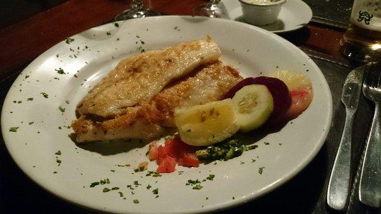 La Perdiz: Parillada fish, tender, well cooked and delicious
