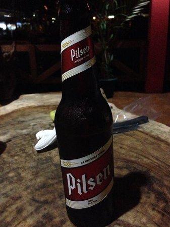 Restaurante Rana Roja: Pilsen beer
