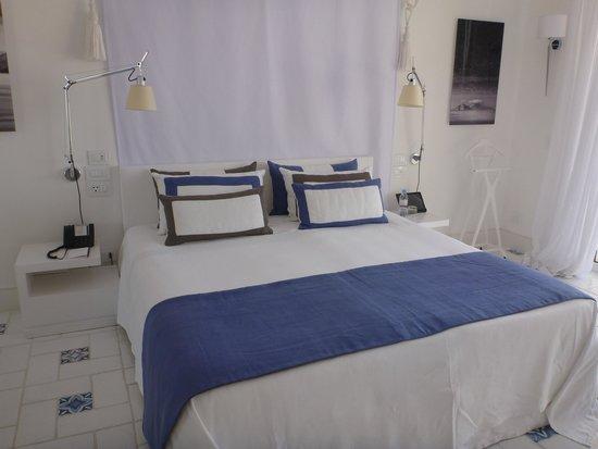 Capri Palace Hotel & Spa: ベッド