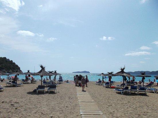 Hotel Ole Galeon Ibiza : Spiaggia vicina all' hotel
