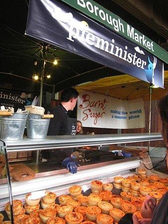 Borough Market: Pieminister....assorted pies