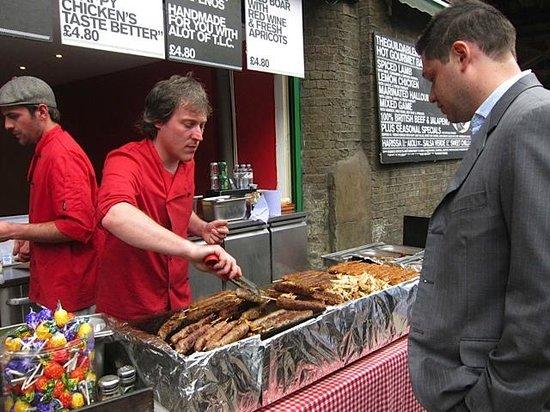 Borough Market: Mouthwatering Sausages