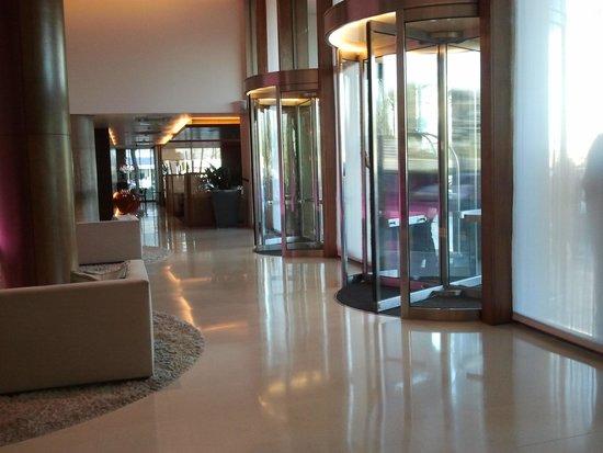 Hotel Madero : la entrada