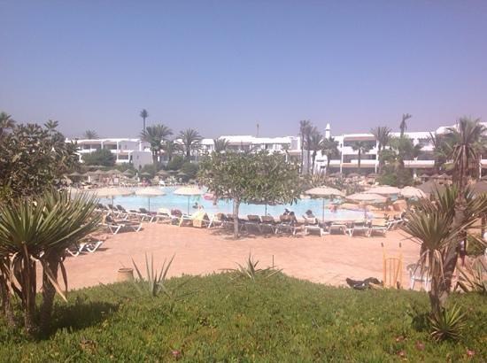 ClubHotel Riu Tikida Dunas : view from pool bar