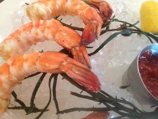 Number 13: 5 large shrimp on the shrimp cocktail