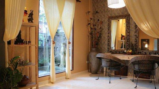 Skin Spa & Organic Waxing Salon: Salon and Fountain