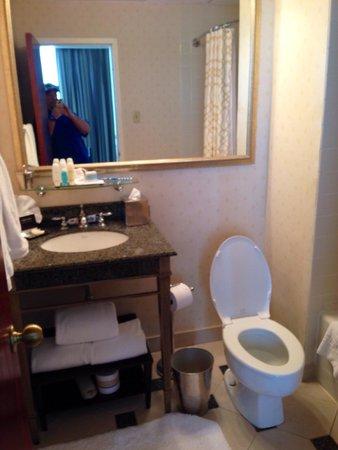 Omni Severin Hotel: Master bath room