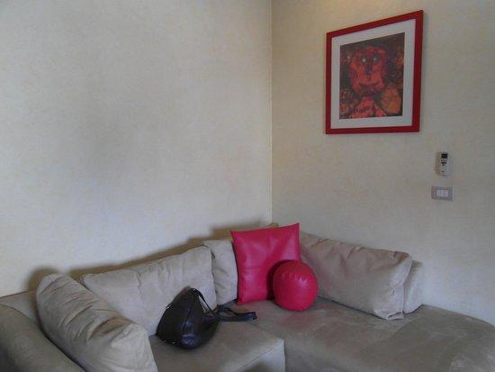 Suites Contempo: część wypoczynkowa