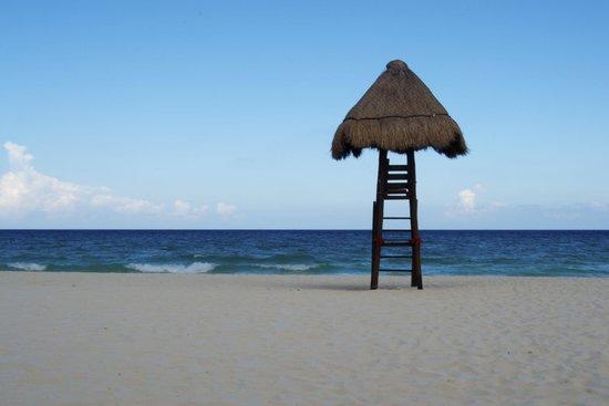 Valentin Imperial Maya: Playa privada