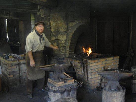 Old Bedford Village: Blacksmith