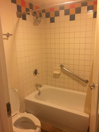 Disney's Coronado Springs Resort: This is the bathroom.