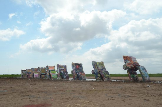 Cadillac Ranch: le auto