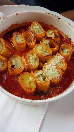 Campanello Caffe: Spinach cannelloni - delicious !