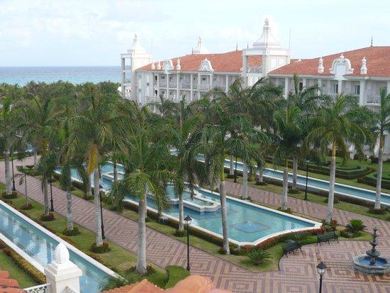 Hotel Riu Palace Riviera Maya: Vista do quarto