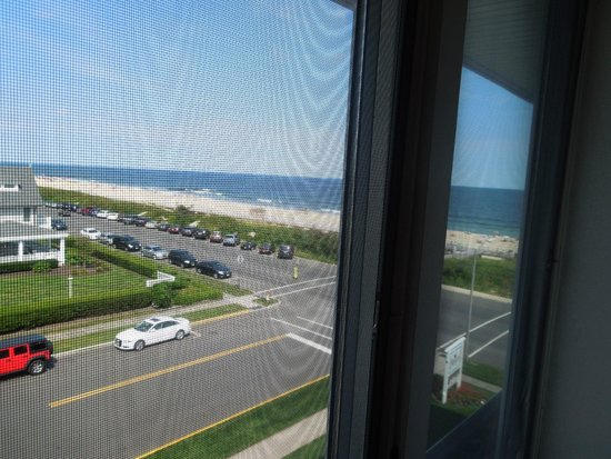 The Breakers on the Ocean : our view - side window
