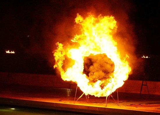 Aldemar Royal Mare Thalasso Resort : Fire!