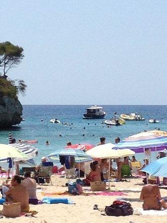 Hotel Pinos Playa: Cala Santanyi Juli 2014