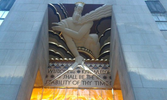 Rockefeller Center : Front door