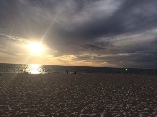 Sunset at Cottesloe beach