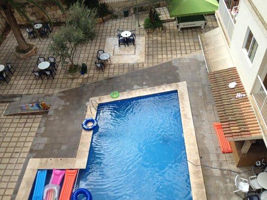 Hotel Palma Mazas: piscina