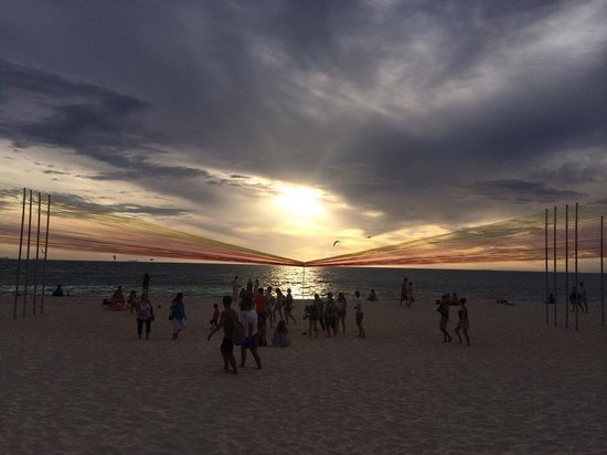 Cottesloe Beach : Sunset at cottesloe