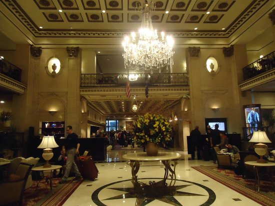 The Roosevelt Hotel : Hall do Hotel